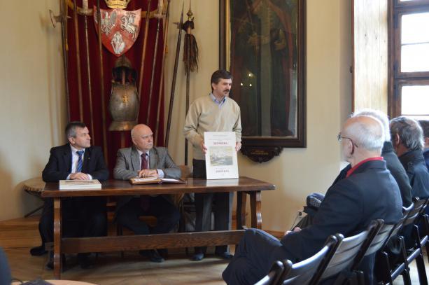 У Жовкві презентували унікальний атлас про історію та ландшафт міста